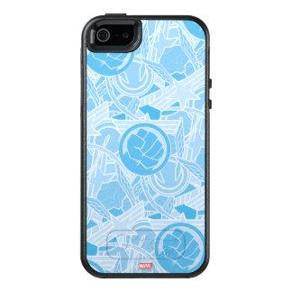 Avengers Symbols Pattern OtterBox iPhone 5/5s/SE Case