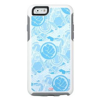 Avengers Symbols Pattern OtterBox iPhone 6/6s Case