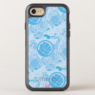 Avengers Symbols Pattern OtterBox Symmetry iPhone 8/7 Case