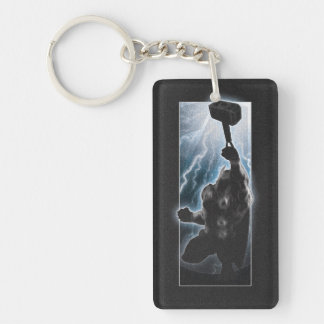 Avengers Thor Character Silhouette Keychain