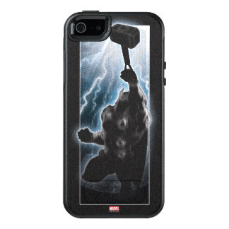 Avengers Thor Character Silhouette OtterBox iPhone 5/5s/SE Case