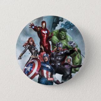 Avengers Versus Loki Drawing Button