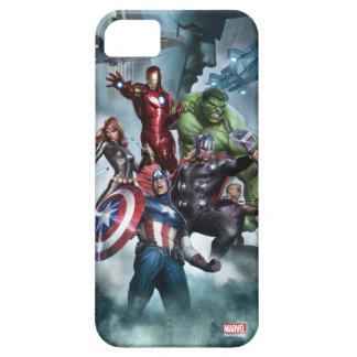 Avengers Versus Loki Drawing iPhone SE/5/5s Case