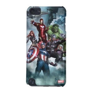 Avengers Versus Loki Drawing iPod Touch 5G Cover