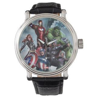 Avengers Versus Loki Drawing Watch