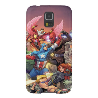 Avengers Versus Red Skull Case For Galaxy S5
