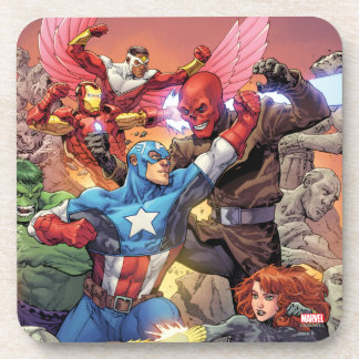 Avengers Versus Red Skull Drink Coaster