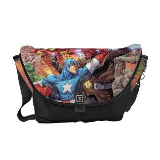 Avengers Versus Red Skull Messenger Bag