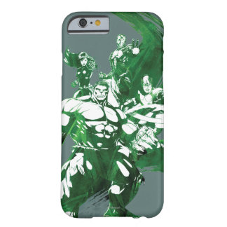 Avengers Watercolor Graphic Barely There iPhone 6 Case