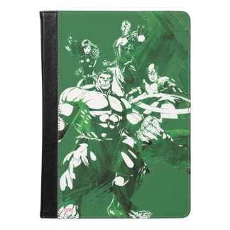Avengers Watercolor Graphic iPad Air Case