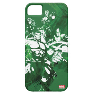 Avengers Watercolor Graphic iPhone SE/5/5s Case