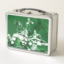 Avengers Watercolor Graphic Metal Lunch Box