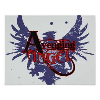 Avenging Angel 4.25x5.5 Paper Invitation Card