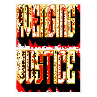 Avenging Justice Postcard