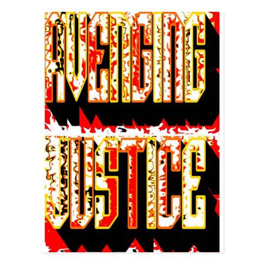 Avenging Justice Postcard