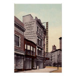 Avenida 1915 de Brooklyn Nueva York Flatbush Posters