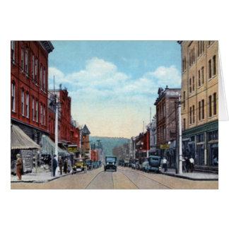 Avenida 1920 de Charleroi Pennsylvania McKean Tarjeta De Felicitación