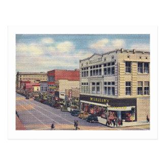 Avenida central., vintage de Albuquerque, New Méxi Postales
