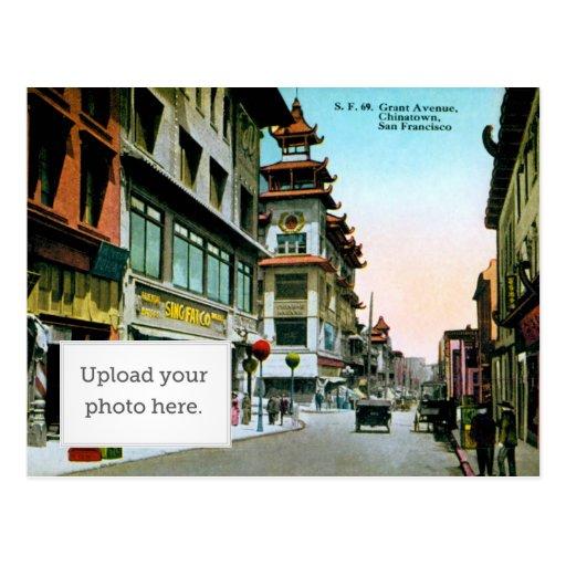 Avenida Chinatown de Grant Tarjetas Postales