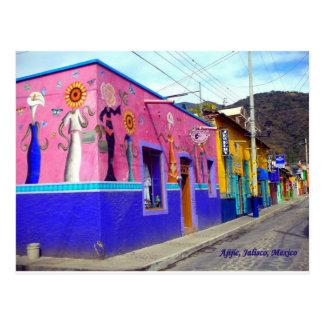 Avenida Colon in Ajijc, Jalisco Mexico Postcard