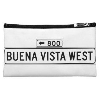 Avenida de Buena Vista. Del oeste, placa de calle