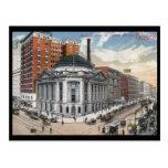 Avenida de Euclid., vintage 1916 de Cleveland Tarjetas Postales