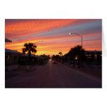Avenida de Flagler - nueva playa de Smyrna, FL Felicitación