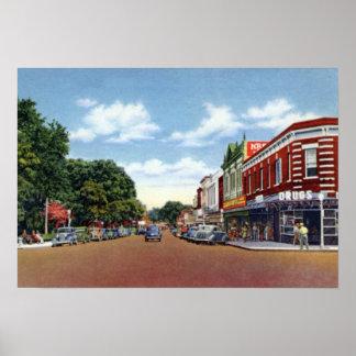 Avenida de Lakeland la Florida Kentucky Póster