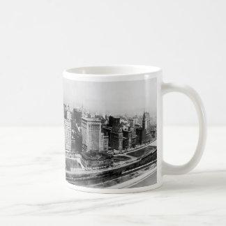 Avenida de Michigan en Chicago (1911) Taza De Café