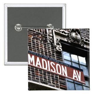 Avenida de NYC Madison Pins