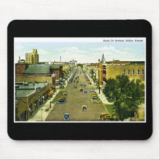 Avenida de Santa Fe salina Kansas Tapetes De Raton