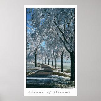 Avenida de sueños póster