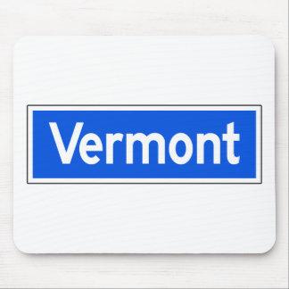 Avenida de Vermont, Los Ángeles, placa de calle de Mousepads