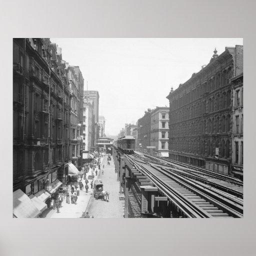 Avenida de Wabash: 1900 Impresiones