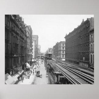 Avenida de Wabash: 1900 Póster