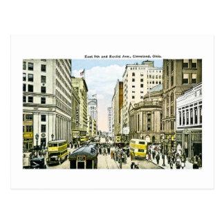 Avenida del este la 9na y de Euclid, Cleveland, Tarjetas Postales