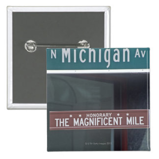 'Avenida del norte de Michigan y la milla Pin Cuadrado