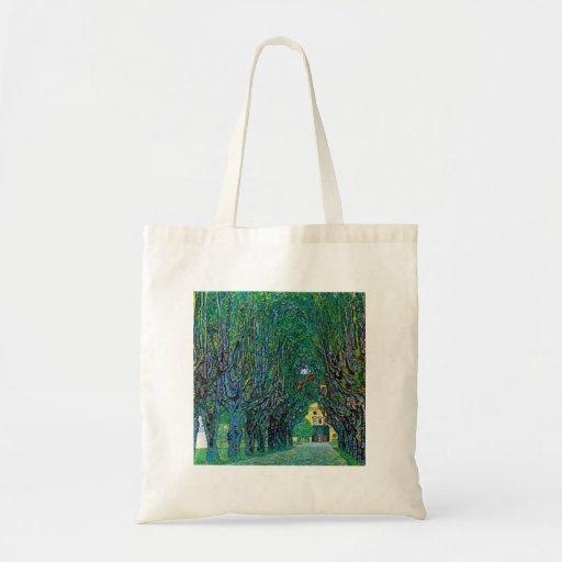 Avenida en arte del parque del kammer de los bolsa tela barata