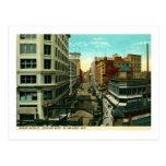Avenida magnífica., vintage de Milwaukee, Wisconsi Tarjetas Postales