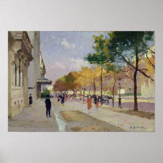 Avenida Montaigne París Impresiones