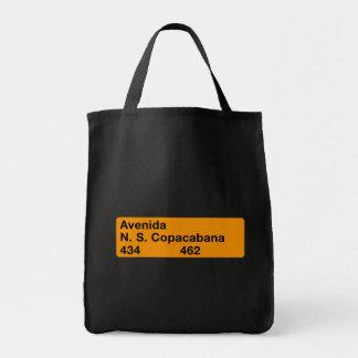 Avenida Nossa Senhora de Copacabana, Rio de Janeir Grocery Tote Bag