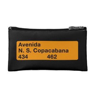 Avenida Nossa Senhora de Copacabana, Rio de Janeir Cosmetic Bags