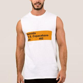 Avenida Nossa Senhora de Copacabana, Río de Janeir Camisetas Sin Mangas