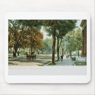 Avenida principal., vintage 1909 de Knoxville TN Mousepads