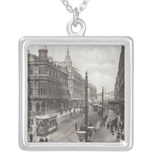 Avenida real, Belfast, c.1900 Colgante Cuadrado