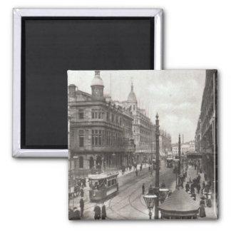 Avenida real, Belfast, c.1900 Imán De Frigorífico