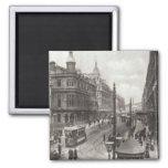 Avenida real, Belfast, c.1900 Imán Cuadrado