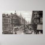 Avenida real, Belfast, c.1900 Póster