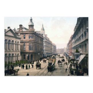 Avenida real Belfast Co. Antrim, Irlanda 1890 Invitación 8,9 X 12,7 Cm