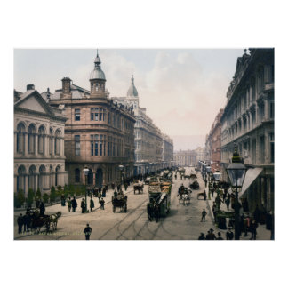 Avenida real Belfast Co. Antrim, Irlanda 1890 Impresiones